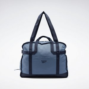 Спортивная сумка Classics Tailored Packable Reebok. Цвет: blue slate