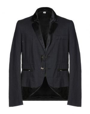 Пиджак JOHN GALLIANO. Цвет: темно-синий