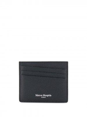 Картхолдер с логотипом Maison Margiela. Цвет: черный