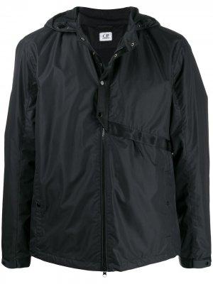 Куртка с линзами на капюшоне CP Company. Цвет: черный