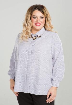 Рубашка Luxury Plus. Цвет: белый