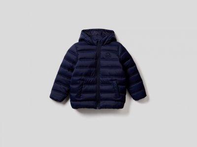 Утепленная куртка Rain Defender Benetton. Цвет: синий
