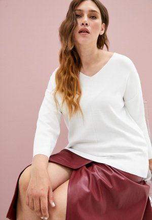 Пуловер Elena Miro. Цвет: белый