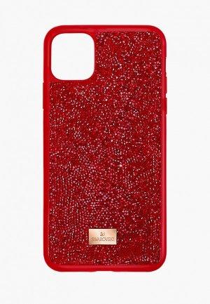 Чехол для iPhone Swarovski® 12 Pro Max. Цвет: красный