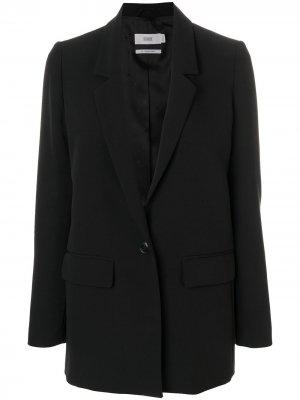 Пиджак свободного кроя Closed. Цвет: черный