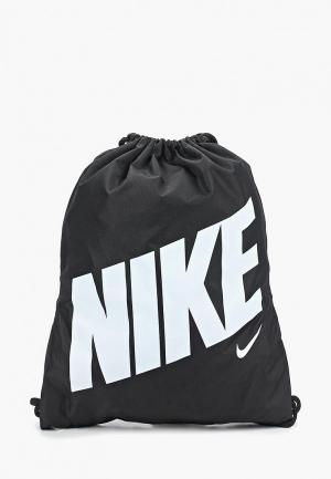 Мешок Nike KIDS GRAPHIC GYM SACK. Цвет: черный
