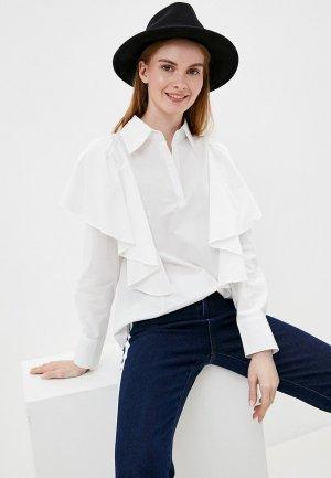 Блуза Tantra. Цвет: белый