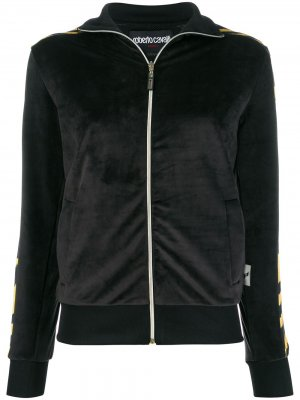 Спортивная куртка Roberto Cavalli. Цвет: черный
