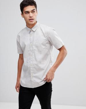 Рубашка с короткими рукавами -Светло-бежевый Bellfield