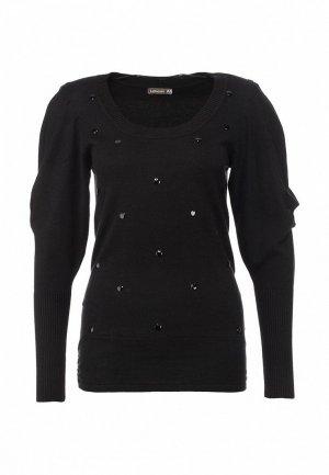 Пуловер LeMonada LE005EWET195. Цвет: черный