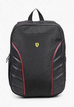 Рюкзак Ferrari для ноутбуков 15, Scuderia Backpack Simple Full Black. Цвет: черный