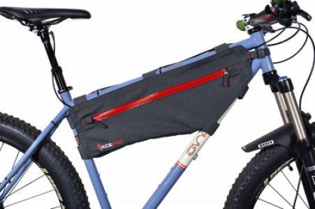 Сумка на велосипед ACEPAC. Цвет: черный