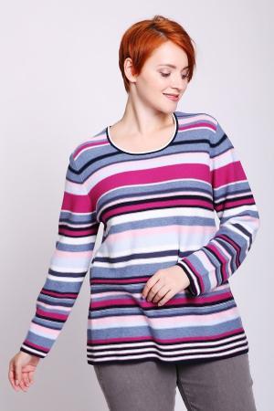 Пуловер Via Appia. Цвет: разноцветный