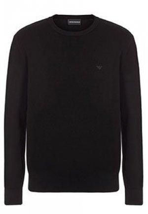 Пуловер EMPORIO ARMANI. Цвет: черный