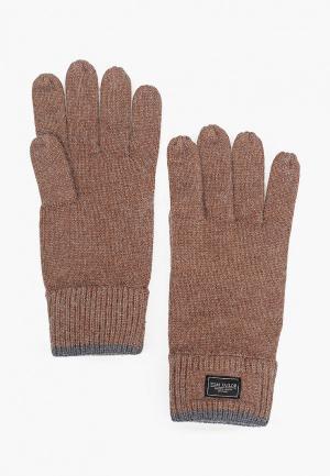 Перчатки Tom Tailor. Цвет: коричневый