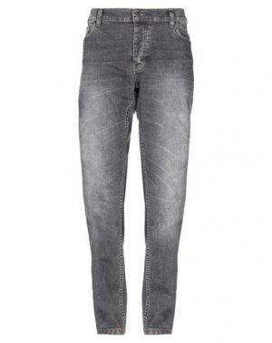 Джинсовые брюки DICKIES. Цвет: свинцово-серый