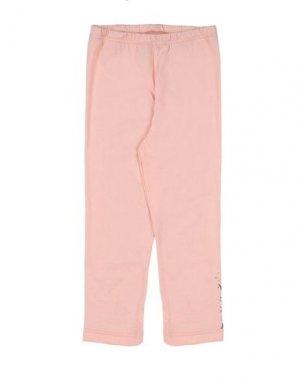 Легинсы 3 POMMES. Цвет: лососево-розовый