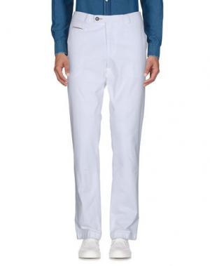 Повседневные брюки DIMENSIONE. Цвет: белый