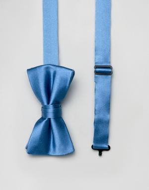 Галстук-бабочка и булавка на лацкан пиджака -Синий Ben Sherman