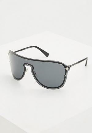 Очки солнцезащитные Versace VE2180 100087. Цвет: черный