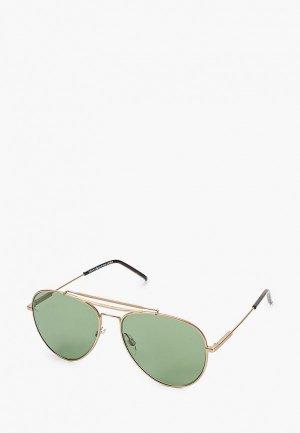 Очки солнцезащитные Tommy Hilfiger TH 1709/S AOZ. Цвет: золотой