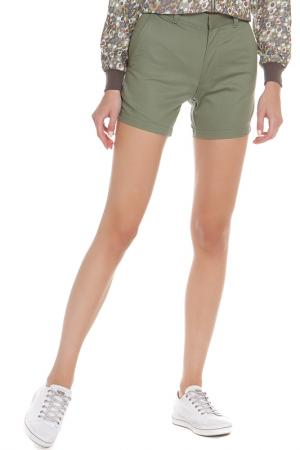 Шорты American Apparel. Цвет: olive twill
