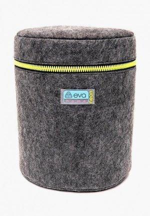Органайзер для хранения Eva 21х21 см. Цвет: серый