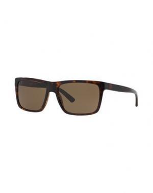 Солнечные очки DKNY. Цвет: темно-коричневый