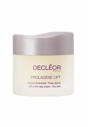 Подтягивающий крем для сухой кожи лица 50 мл Decleor. Цвет: прозрачный