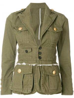 Куртка в стиле милитари Dsquared2