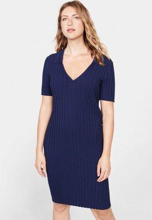 Платье Violeta by Mango - JACQUES. Цвет: синий