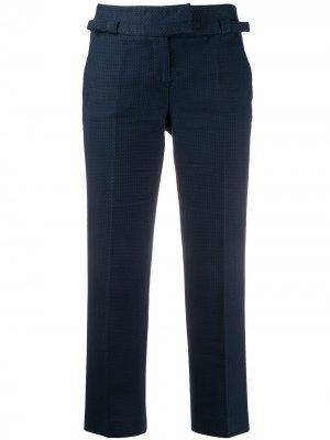 Укороченные брюки Christian Dior. Цвет: синий