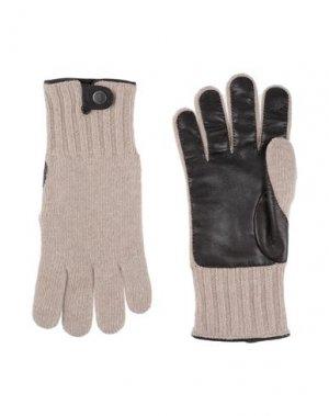 Перчатки HARMONT&BLAINE. Цвет: бежевый