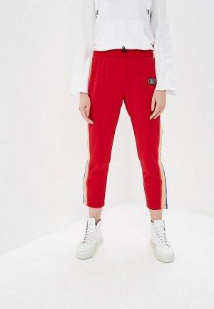 Брюки спортивные Juicy by Couture. Цвет: красный