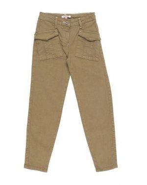 Джинсовые брюки DENNY ROSE YOUNG GIRL. Цвет: зеленый-милитари