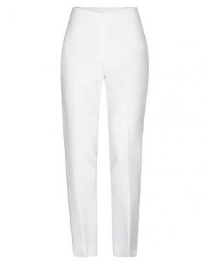 Повседневные брюки ANTONIO BERARDI. Цвет: белый
