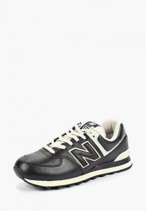 Кроссовки New Balance 574v2. Цвет: черный
