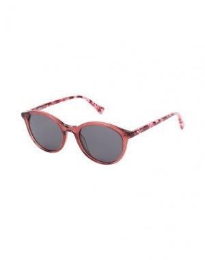 Солнечные очки PUMA. Цвет: пастельно-розовый