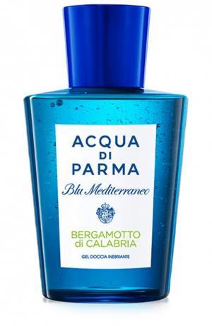 Гель для душа Blu Mediterraneo Bergamotto di Calabria Acqua Parma. Цвет: бесцветный