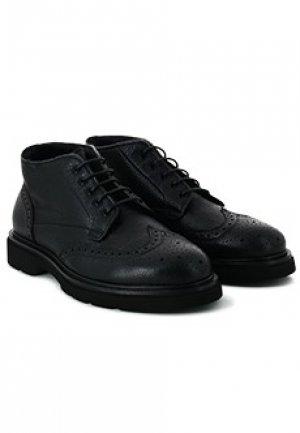 Ботинки броги CAMERLENGO. Цвет: черный