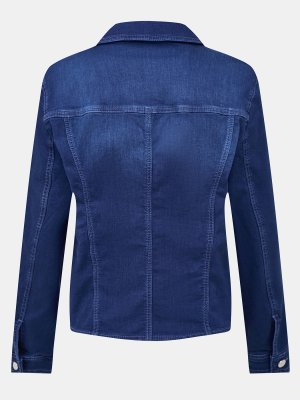 Джинсовая куртка Basler. Цвет: siniy