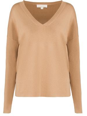 Пуловер с длинным рукавом MICHAEL KORS. Цвет: бежевый