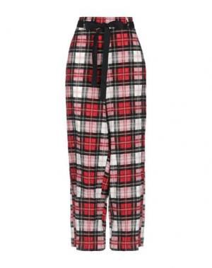 Повседневные брюки HACHE. Цвет: красный