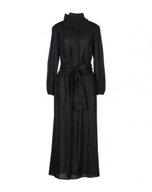 Длинное платье BRIAN DALES. Цвет: черный