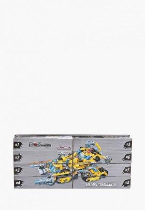 Конструктор 1Toy Blockformers Connector, Мегастроймобиль, 8 шт.. Цвет: разноцветный
