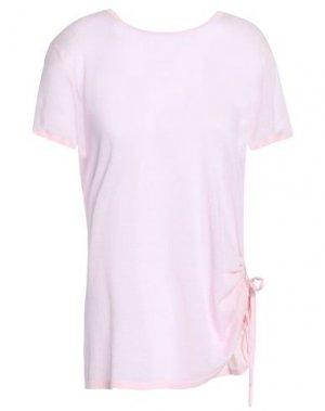 Футболка COTTON by AUTUMN CASHMERE. Цвет: розовый