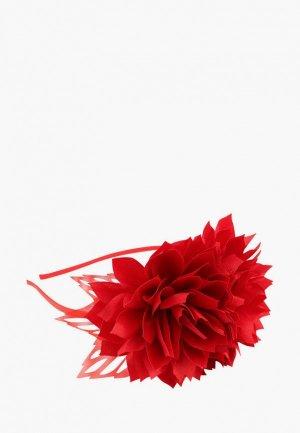 Ободок Stilmark. Цвет: красный