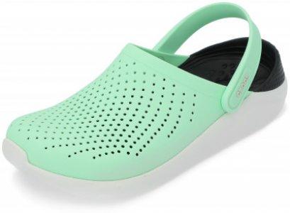Шлепанцы LiteRide, размер 39-40 Crocs. Цвет: зеленый