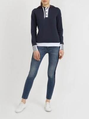 Зауженные джинсы By Byblos. Цвет: siniy