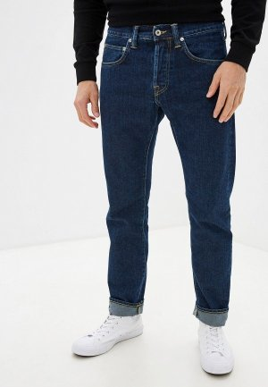 Джинсы Edwin ED-55 Blue Denim 12,6 oz. Цвет: синий
